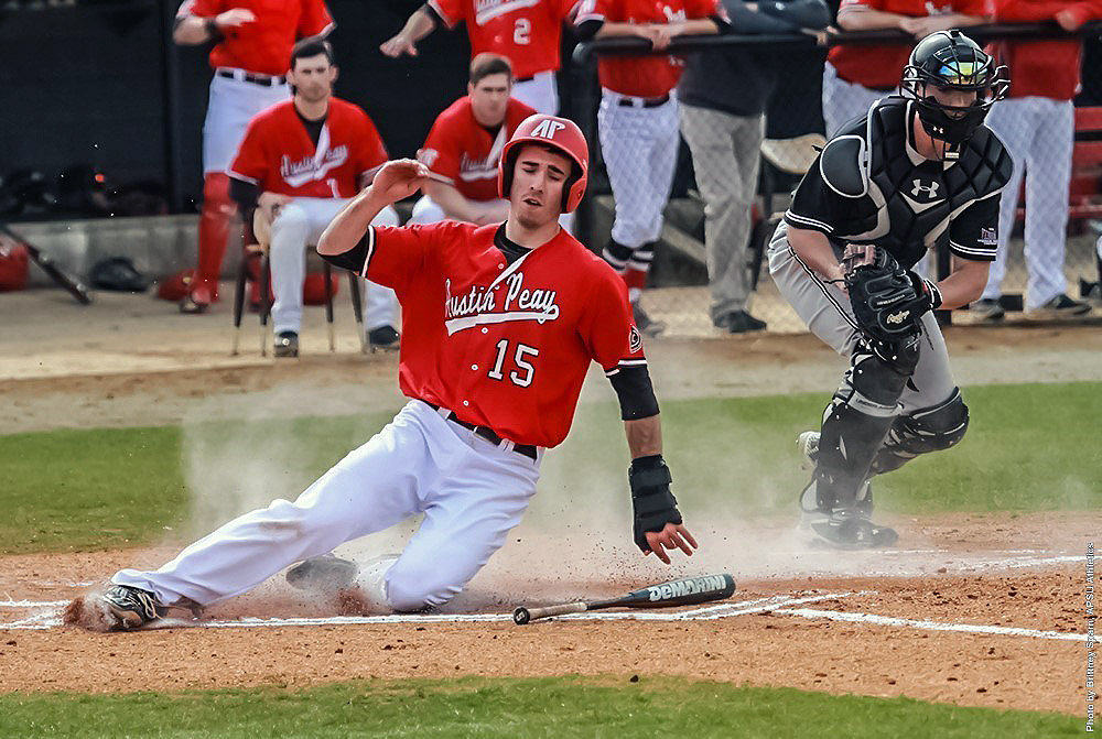 Austin Peay Baseball plays important three game series at Belmont this weekend. (APSU Sports Information)