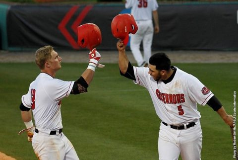 Austin Peay Baseball beats Eastern Kentucky 10-1 Friday night at Raymond C. Hand Park. (APSU Sports Information)