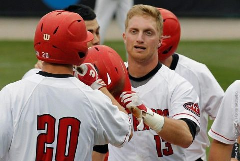 Austin Peay Baseball holds off Eastern Kentucky Saturday at Raymond C. Hand Park. (APSU Sports Information)