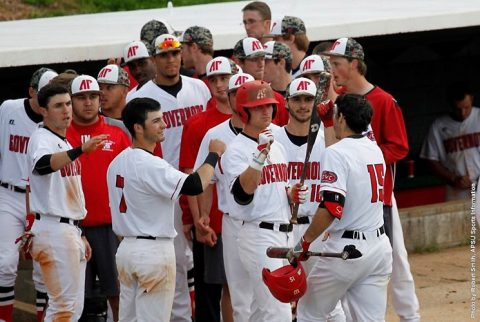 Austin Peay Baseball sweeps SIU Edwardsville to lock first round by in OVC Tournament. (APSU Sports Information)