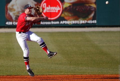 Austin Peay Baseball begins five game week at Vanderbilt Tuesday, then hosts Evansville Wednesday at Raymond C. Hand Park. (APSU Sports Information)