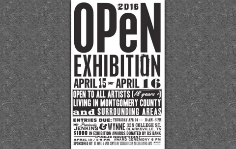 APSU Department of Art and Design to hold US Bank Open Exhibition April 15th-16th