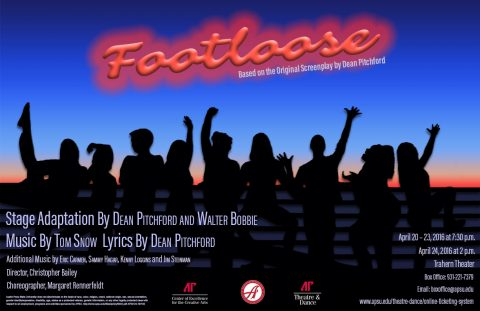 """APSU Department of Theatre and Dance to present """"Footloose: The Musical"""""""