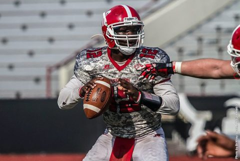 Austin Peay Football holds annual Red and White Game Saturday at Fortera Stadium. (APSU Sports Information)