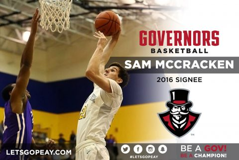 Austin Men's Basketball adds Cincinnati forward Sam McCraken/ (APSU Sports Information)