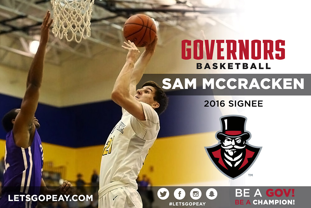 APSU Governors Basketball adds forward Sam McCraken from ...