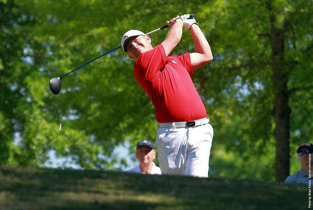 Austin Peay Men's Golf sits in fifth place at OVC Championships. (APSU Sports Information)