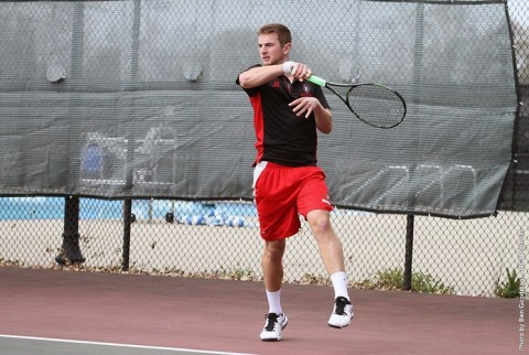 Austin Peay Men's Tennis takes on Murray State Tuesday to begin three match homestand. (APSU Sports Information)