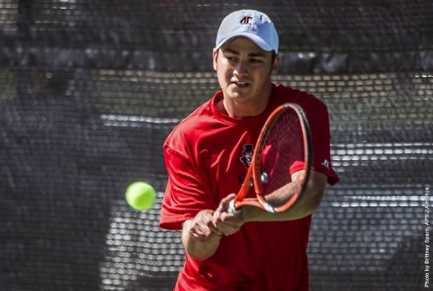 APSU Men's Tennis. (APSU Sports Information)