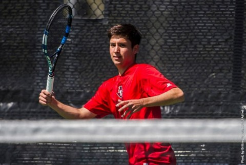 Austin Peay Men's Tennis defeated Belmont Bruins 4-3 in their last home game of the season. (APSU Sports Information)