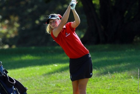 Austin Peay senior Jessica Cathey shoots a final round 75 to lead all Lady Govs at EKU Colonel Classic Saturday. (APSU Sports Information)