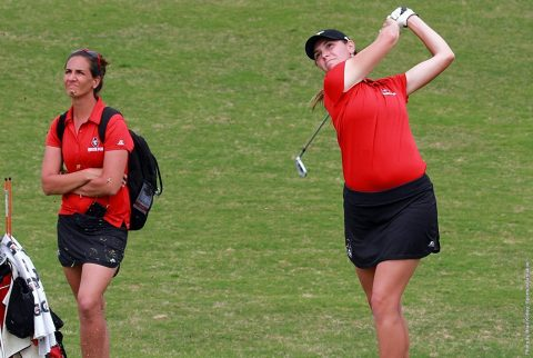 Austin Peay Women's Golf places fifth at OVC Tournament, Morgan Kauffman earns All-Tournament Wednesday. (APSU Sports Information)