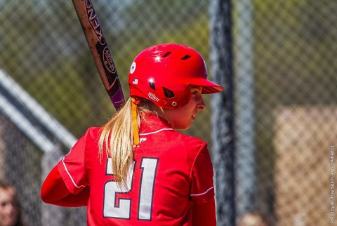 Austin Peay Softball unable to get on track against Belmont Bruins Saturday at Cheryl Holt Field. (APSU Sport Information)
