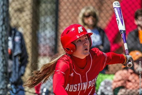 Austin Peay Softball. (APSU Sports Information)