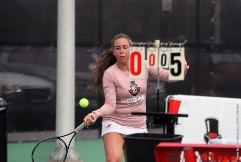 Austin Peay Women's Tennis gets 6-1 win over Southeast Missouri, Friday. (APSU Sports Information)