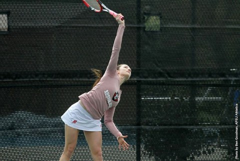 APSU Lady Govs Tennis plays Murray State Tuesday to start three match homestand. (APSU Sports Information)