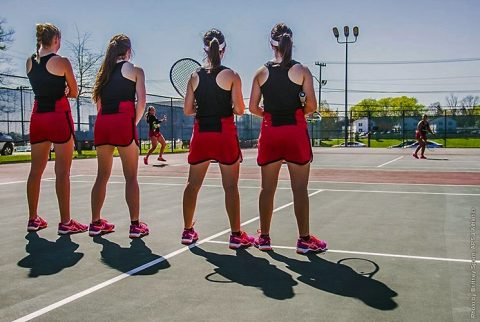 Austin Peay Women's Tennis play in OVC Tournament, Friday. (APSU Sports Information)