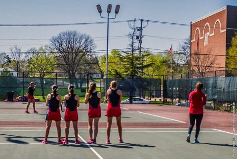APSU Women's Tennis. (APSU Sports Information)