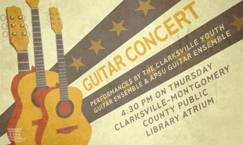 Clarksville-Montgomery County Public Library to hold Guitar Concert Thursday, April 21st