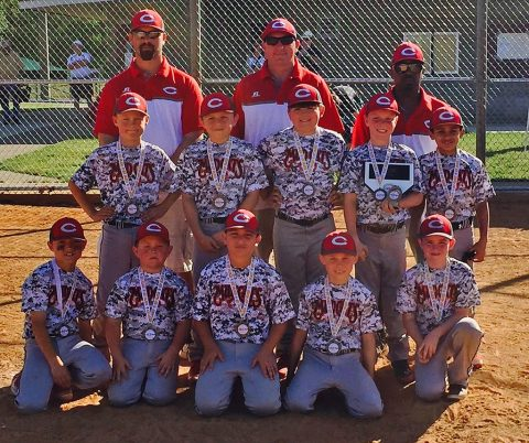 "Clarksville Mudcats wins 10U Baseball Title at ""Country Inn & Suites Clarksville Open""."