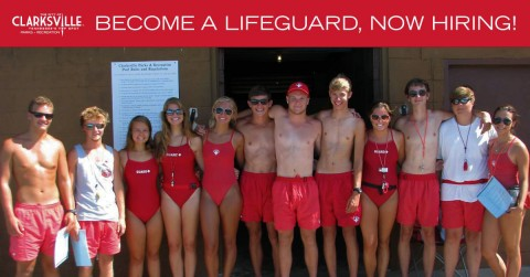 Clarksville Parks and Recreation now hiring summer lifeguard positions