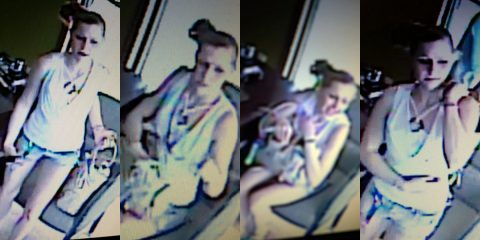 If anyone can identify the suspect in these photos provided please call Detective Bushnell at 931.648.0656 Ext 5170, or call or text the CrimeStoppers TIPS Hotline at 931.645.TIPS (8477)—TEXT to 274637 (CRIMES).