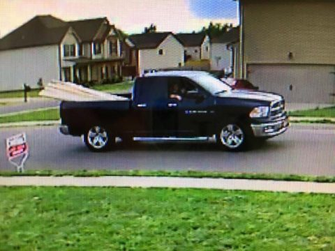 If anyone can identify the truck and/or suspects in this photo please call 931.648.0656 Ext 5263.