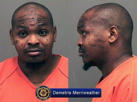Clarksville Police have Criminal Homicide suspect Demetris Merriweather in custody.