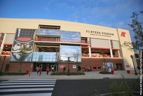 APSU Governors Stadium to become Fortera Stadium. (APSU Sports Information)