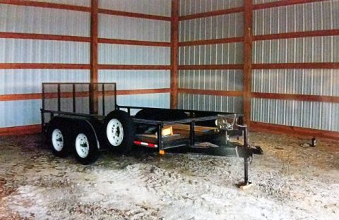 $500.00 reward offered for return of Stolen Trailer.