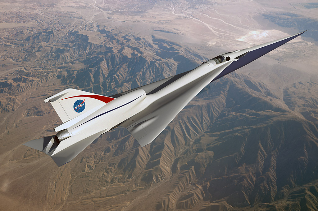 The Quiet Supersonic Technology, or QueSST, concept is in the preliminary design phase and on its way to being one of NASA's first X-planes. (NASA)