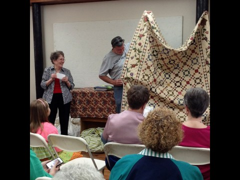 "Starr Howell to present ""Our Quilts tell Stories"" at Rivers and Spires Quilts of the Cumberland Thursday night."