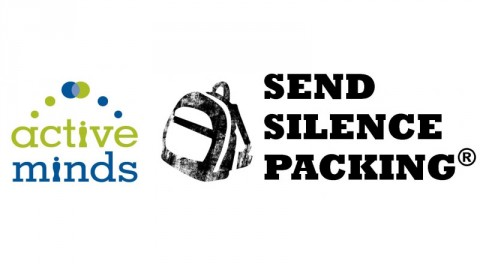 "APSU Active Minds chapter will hold ""Send Silence Packing"" suicide prevention event this Friday, April 8th."