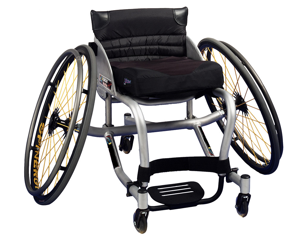 Quality of Life grant received from the Christopher & Dana Reeve Foundation to be used for Sports Wheelchairs.