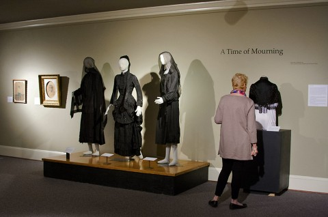 'A Time of Mourning' Exhibit on display at the Customs House Museum and Cultural Center.