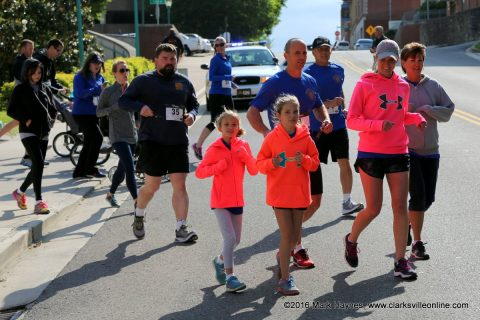Clarksville Police Department's 2nd annual 5k Run/Walk for C.O.P.S.