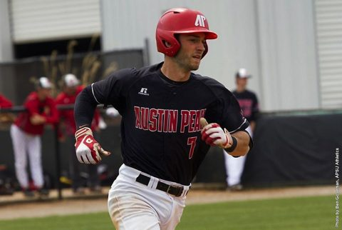 Austin Peay Baseball holds off late SIU Edwardsville rally for 12-9 win Saturday. (APSU Sports Information)