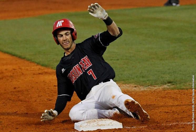 Austin Peay Baseball drops two games Thursday to Oklahoma Sooners. (APSU Sports Information)