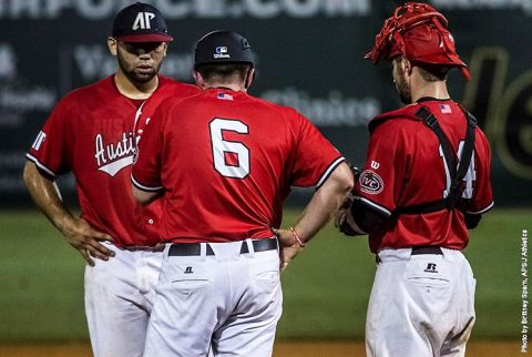 Austin Peay Baseball falls to Southeast Missouri 10-4 in OVC Tournament elimination game Saturday night. (APSU Sports Information)