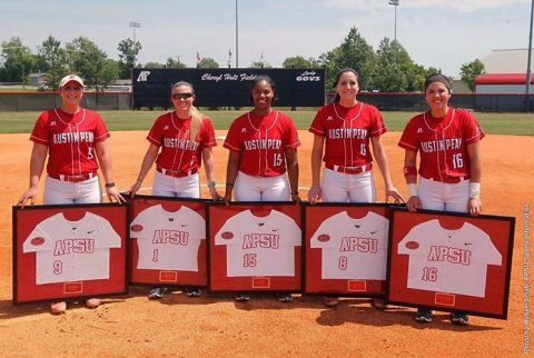 Austin Peay Softball loses Senior Day game to Murray State, Sunday. (APSU Sports Information)