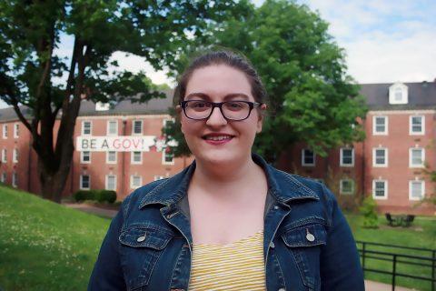 APSU student Emily Horton