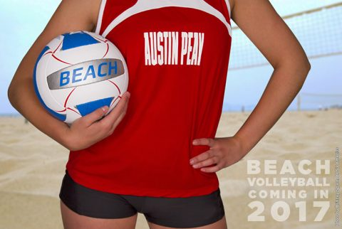 Austin Peay Beach Volleyball to make debut Spring 2017. (APSU Sports Information)