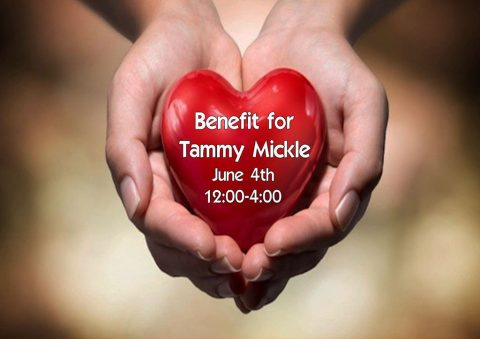 Benefit for Tammy Mickle to be held Saturday, June 4th