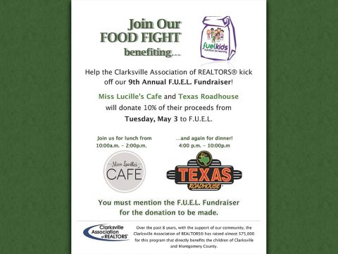 Clarksville Association of Realtors Food Fight