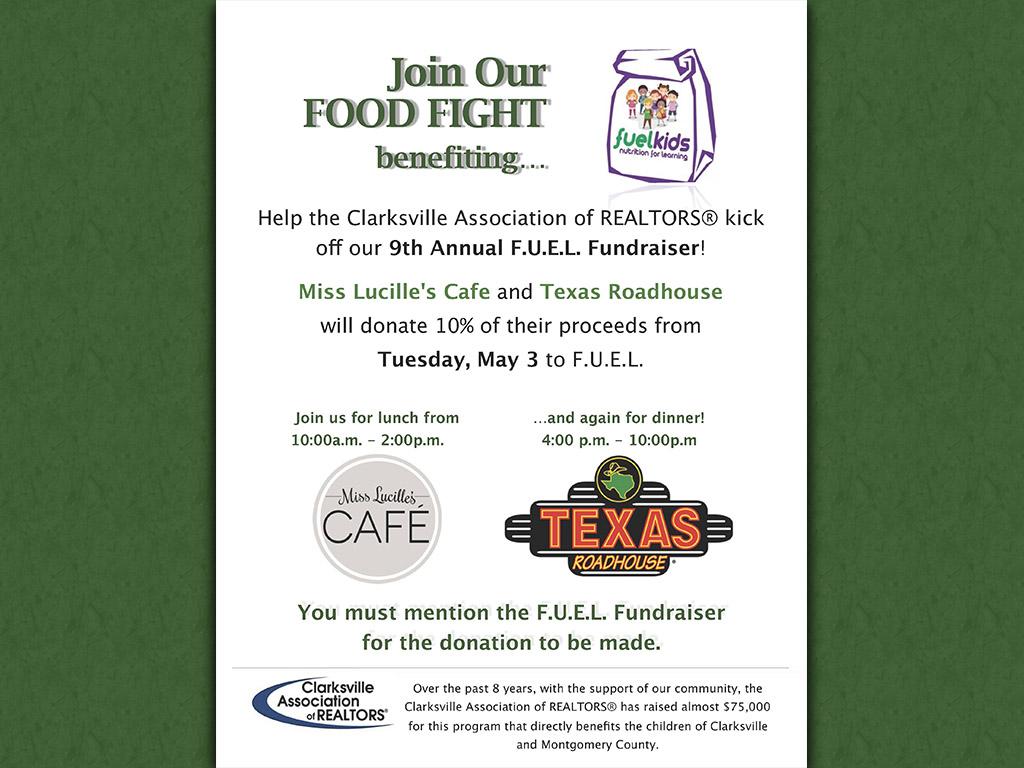 Clarksville Association of Realtors Food Fight