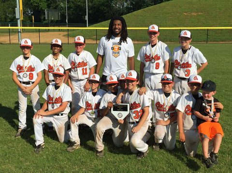 Clarksville Orioles 11u wins 12u Division.