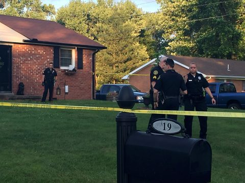Clarksville Police respond to shots fired on Lasalle Street.