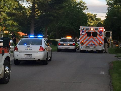 Clarksville Police respond to shots fired on Lasalle Street.
