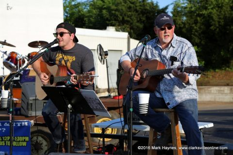 Back Lot Pickers playing at Hilltop Super Market's Dwayne Byard Memorial BBQ Cook Off and Car Show, Friday night.