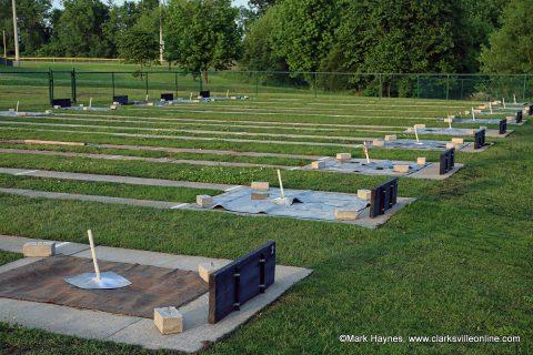 Montgomery County's Civitan Park Horseshoe Pits